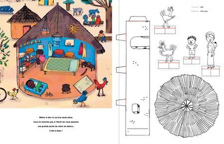 Colorie et fabrique tes maisons du monde ricochet for Maison du monde livre