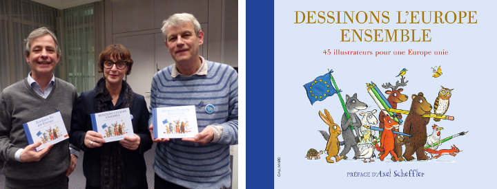 Dessinons ensemble l'Europe - Europe - Illustrateurs jeunesse - Gallimard