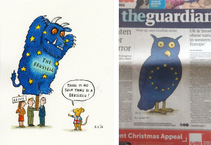 Axel Scheffler - Europe - illustration jeunesse