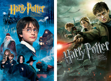 Harry Potter affiches
