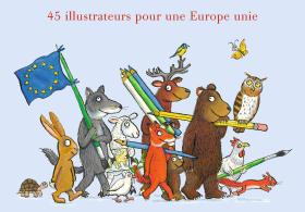 Europe - illustration jeunesse - livre jeunesse