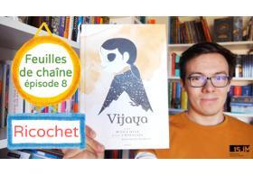 Vijaya - David Jesus Vignolli - Akileos - Littérature jeunesse - Bande dessinée