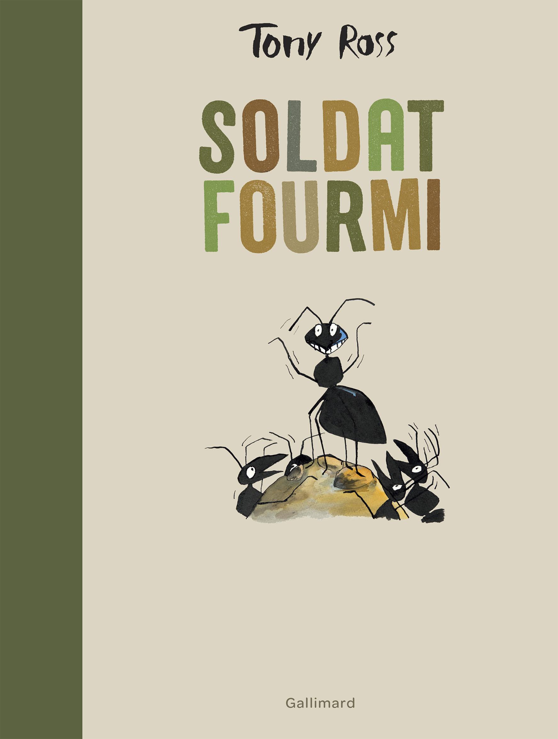 Grosses Fourmis Noires Dans Le Jardin soldat fourmi