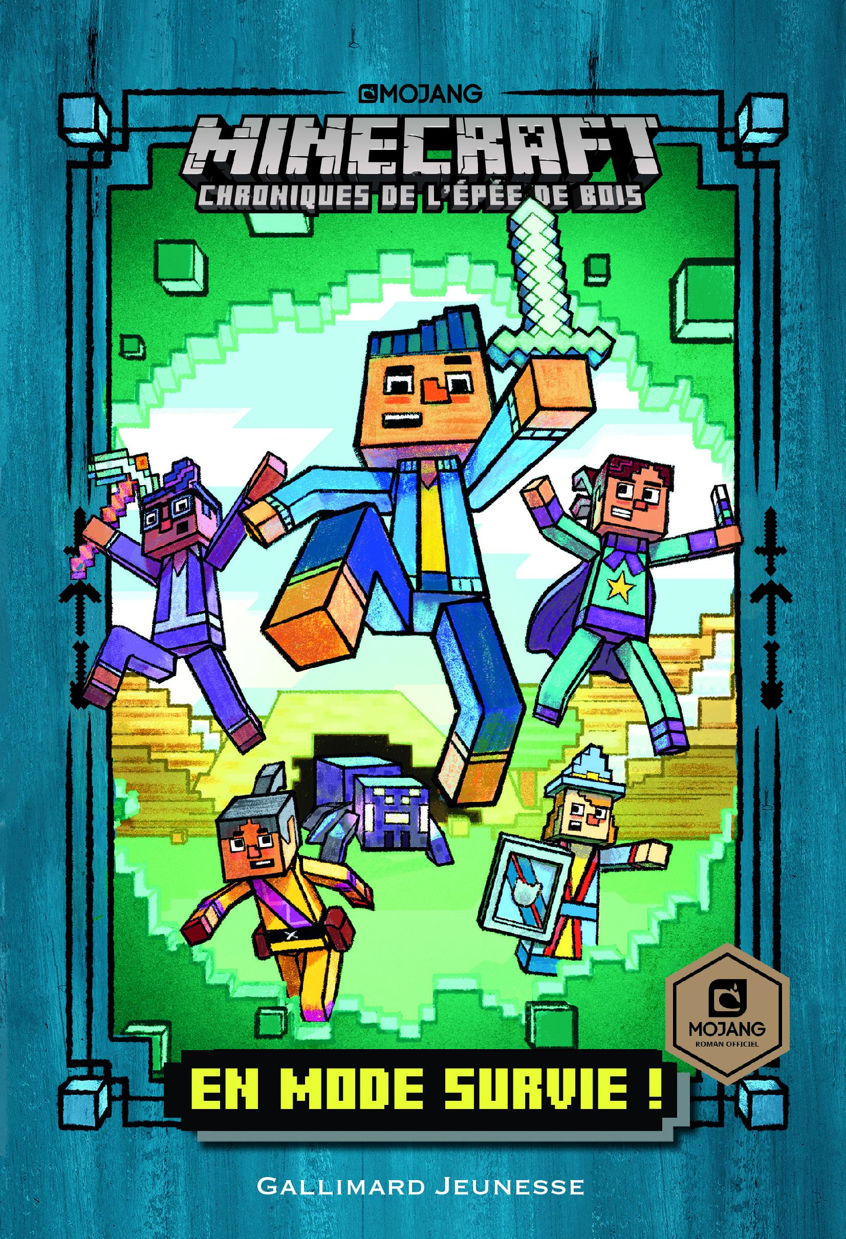 Minecraft Chroniques De L Epee De Bois T 1 En Mode