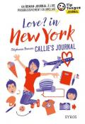 Love? in New York : Callie's journal-benson-maroni-livre jeunesse